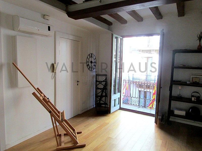 Salón-Comedor - Piso en alquiler en El Gótic en Barcelona - 322750760