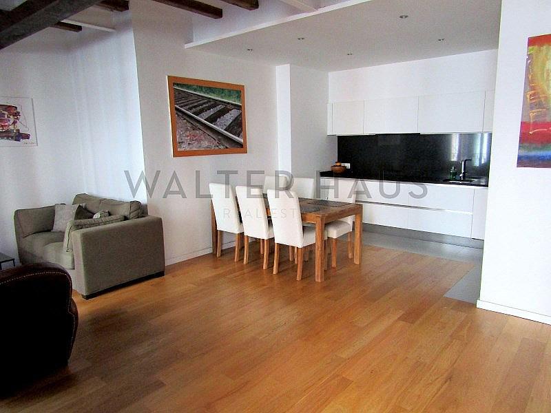 Salón-Comedor - Piso en alquiler en El Gótic en Barcelona - 322750766