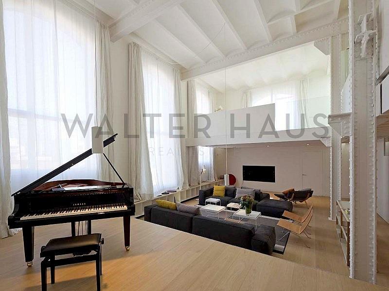 SALÓN - Dúplex en alquiler en La Vila Olímpica en Barcelona - 331125380
