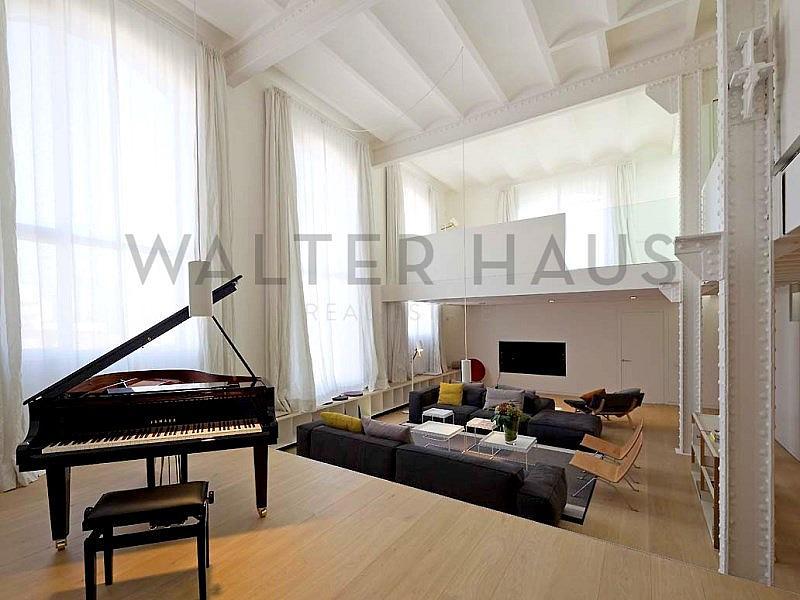 SALÓN - Dúplex en alquiler en La Vila Olímpica en Barcelona - 331125422