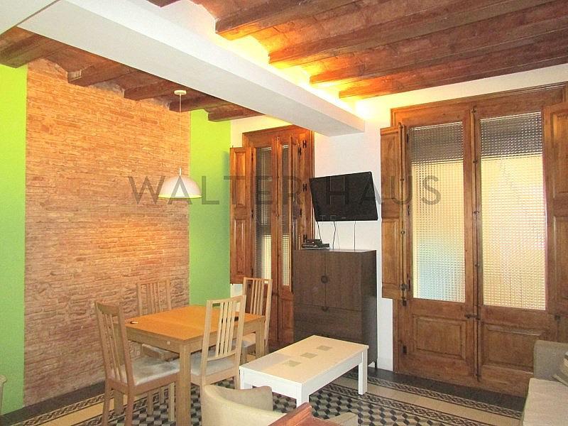 SALÓN-COMEDOR - Piso en alquiler en calle Sant Jacint Ppala, Ciutat vella en Barcelona - 179556595