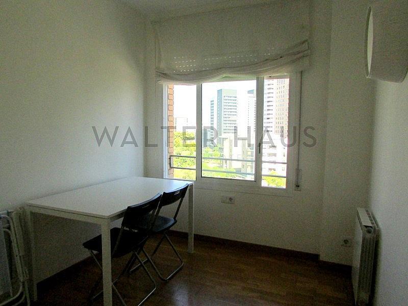 DORMITORIO INDIVIDUAL - Piso en alquiler en Diagonal Mar en Barcelona - 207804205