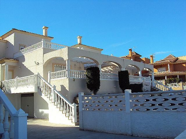 Fachada - Casa pareada en alquiler en calle Torrevella, Pueblo Acantilado-Venta Lanuza en Campello (el) - 322529125