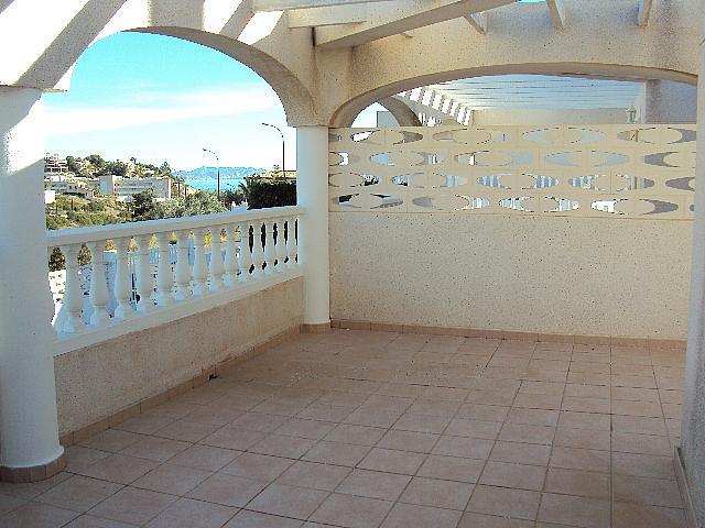 Terraza - Casa pareada en alquiler en calle Torrevella, Pueblo Acantilado-Venta Lanuza en Campello (el) - 322529139