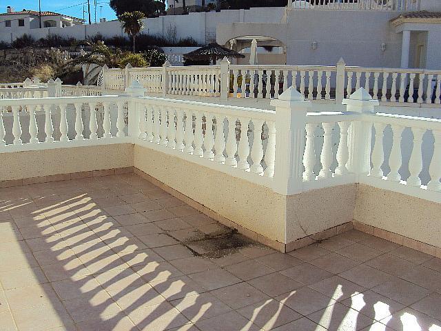 Terraza - Casa pareada en alquiler en calle Torrevella, Pueblo Acantilado-Venta Lanuza en Campello (el) - 322529165