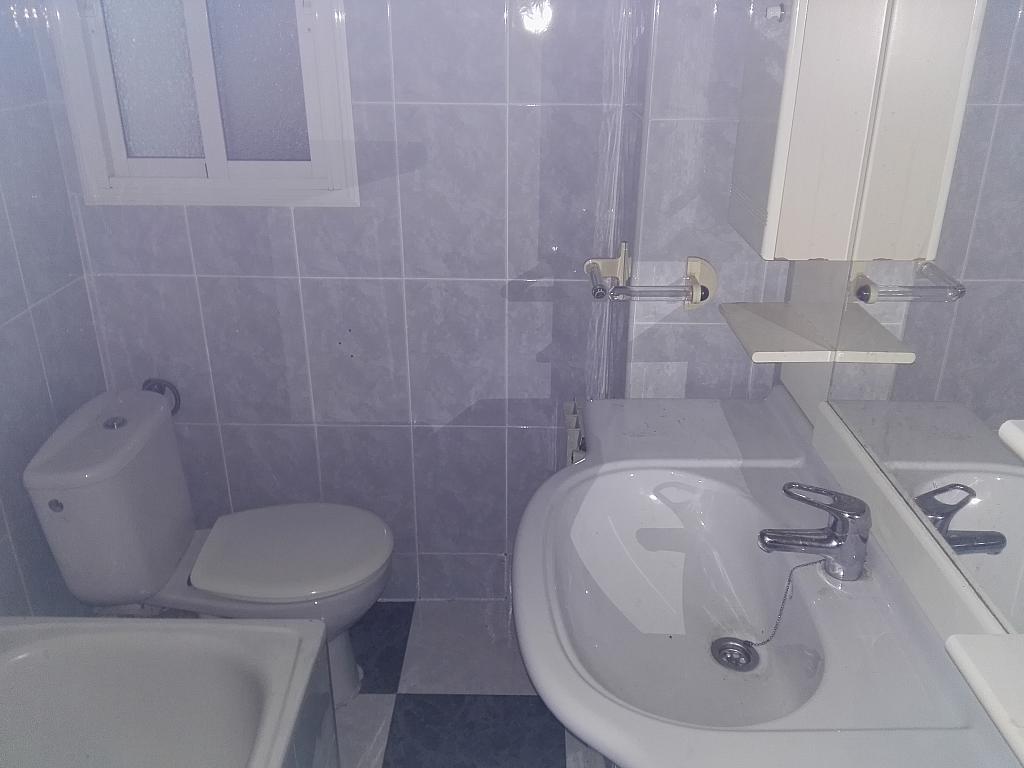 Baño - Piso en alquiler en calle Balears, Singuerlín en Santa Coloma de Gramanet - 311815797