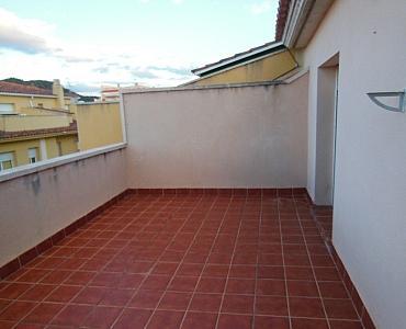Terraza - Dúplex en alquiler en calle Roda de Bara, Centro en Roda de Barà - 186925730