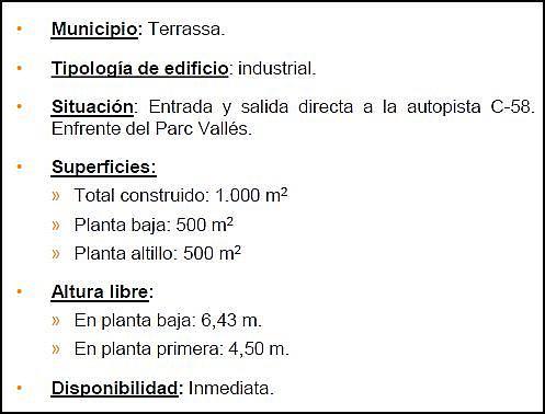Nave industrial en alquiler en Segle xx en Terrassa - 201088995