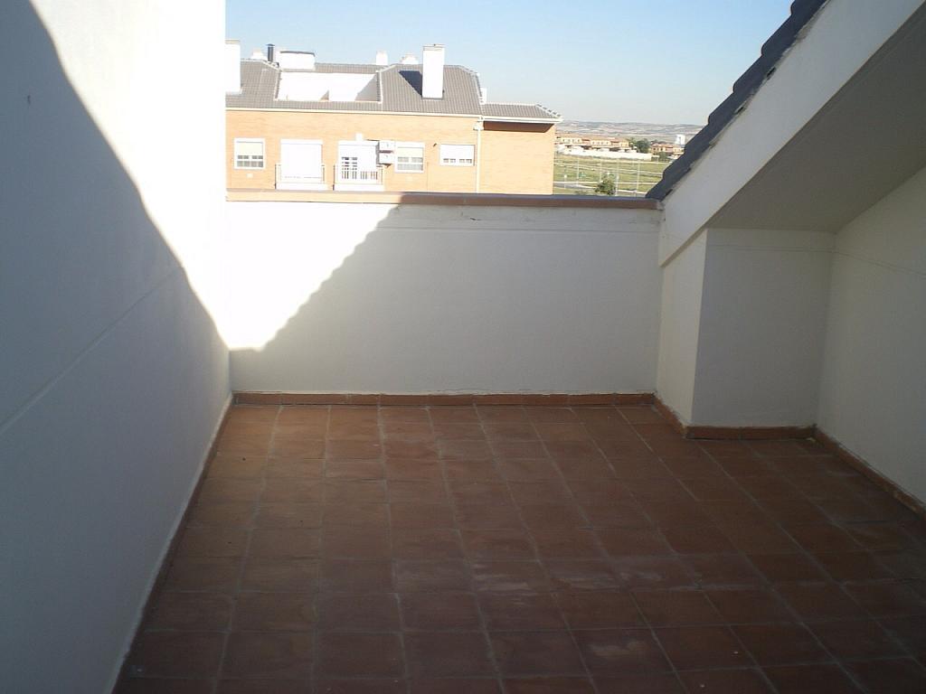 Terraza - Ático en alquiler opción compra en Illescas - 177357364