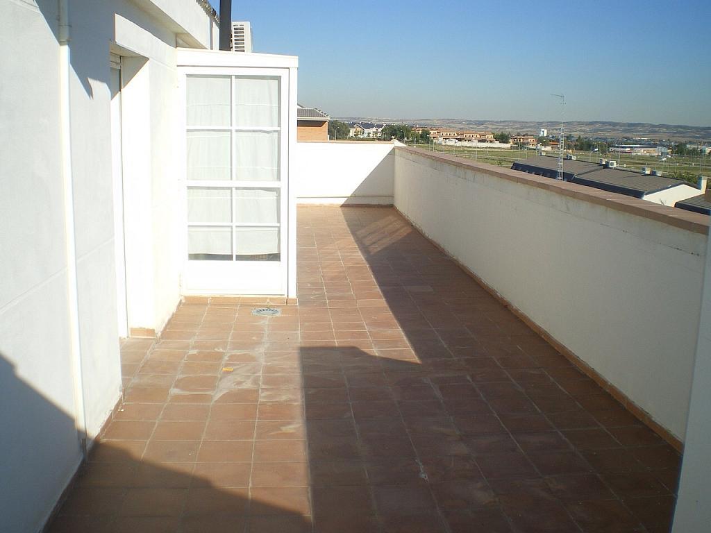 Terraza - Ático en alquiler opción compra en Illescas - 177357373
