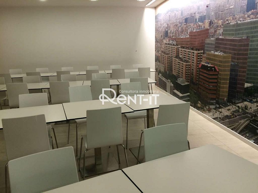 ZCOMEDOR COMUN.JPG - Oficina en alquiler en Gran Via LH en Hospitalet de Llobregat, L´ - 288847435