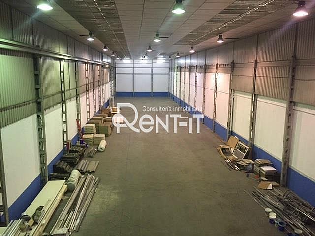 INTERIOR - Nave industrial en alquiler en Zona Industrial en Ripollet - 328252401