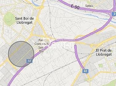 SITUACIÓN - Nave industrial en alquiler en Casablanca en Sant Boi de Llobregat - 332346501