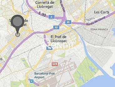 SITUACIÓN - Nave industrial en alquiler en Camps Blancs en Sant Boi de Llobregat - 324154254