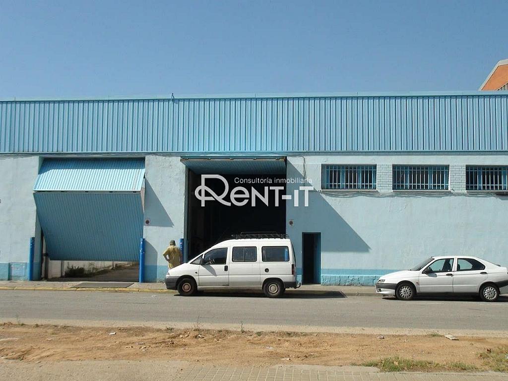 32 fachada .JPG - Nave industrial en alquiler en Almeda en Cornellà de Llobregat - 292143977