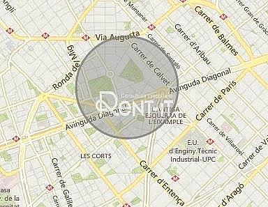 SITUACIÓN - Local en alquiler en Sant Gervasi – Galvany en Barcelona - 324154425