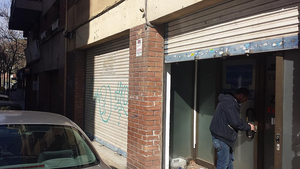Fachada - Local comercial en alquiler en calle Nemesi Valls, Casco Antiguo en Barbera del Vallès - 185743130