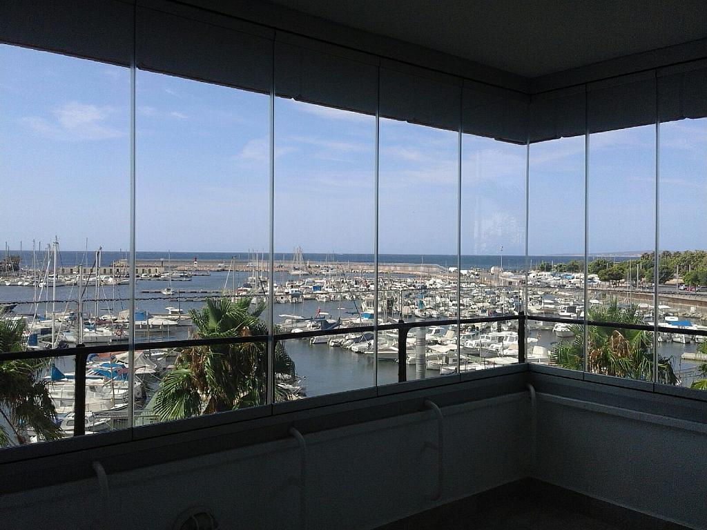 Terraza - Piso en alquiler en calle , Zona portuaria en Palma de Mallorca - 307435367