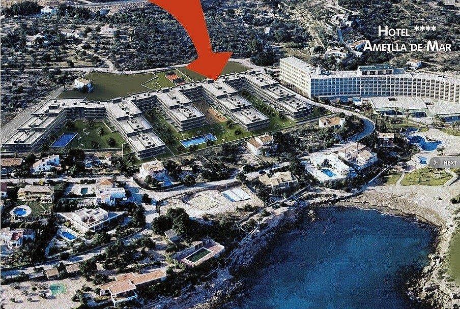 Apartamento en venta en urbanización Rocas Doradas, Roques Daurades en Ametlla de Mar, l´ - 295688801