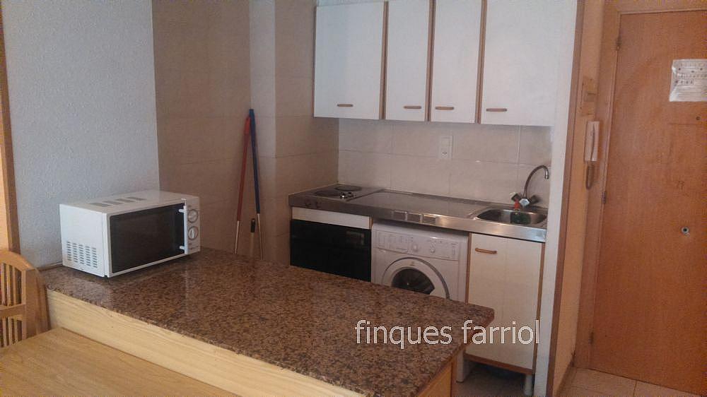 Cocina - Piso en alquiler en calle Vendrell, Capellans o acantilados en Salou - 318853368