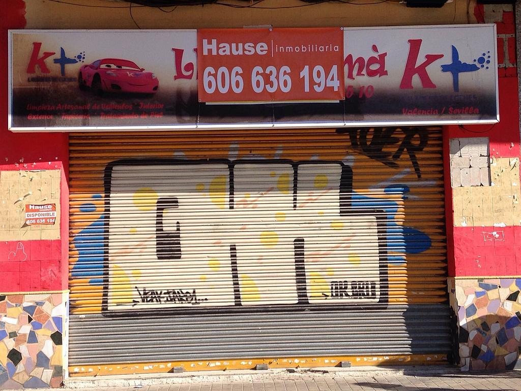 Fachada - Local comercial en alquiler en calle Nicasio Benlloch, Benicalap en Valencia - 291463840