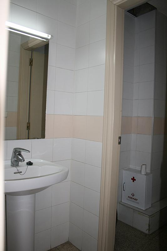Baño - Local comercial en alquiler en calle Belgica, Mestalla en Valencia - 295760036