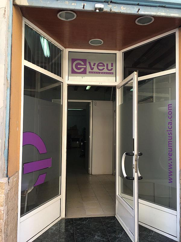 Fachada - Local comercial en alquiler en calle Menendez Pelayo, Alfafar - 298577336