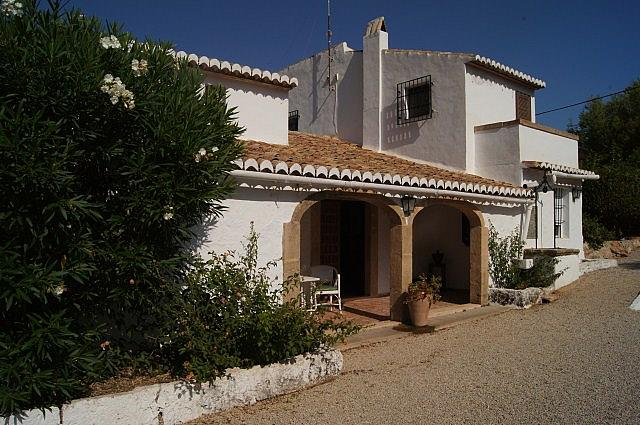 Casa en alquiler de temporada en calle Cala Blanca, Jávea/Xàbia - 191551557