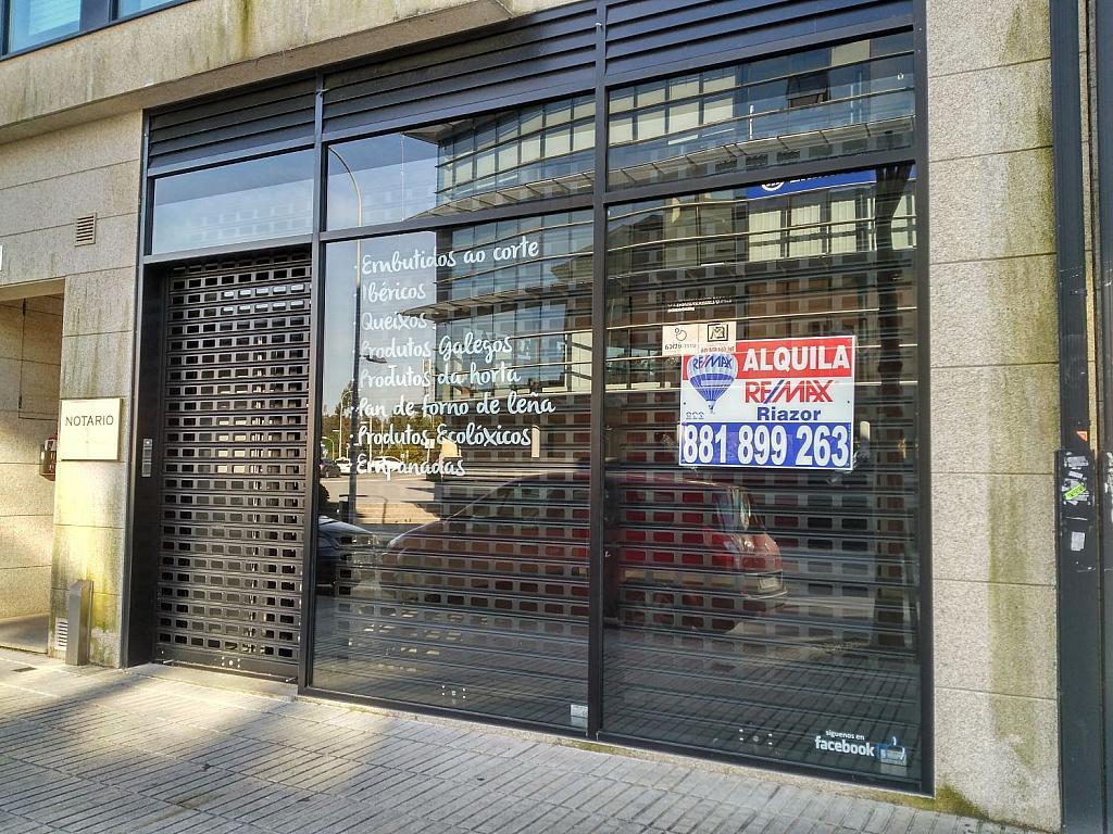 Local comercial en alquiler en calle Palmeiras, Milladoiro (O) - 337524609