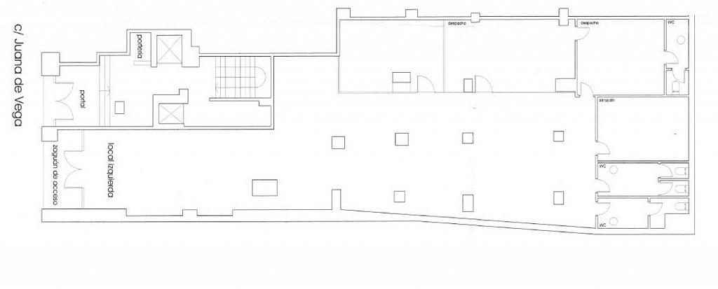 Local comercial en alquiler en calle Juana de Vega, Ensanche en Coruña (A) - 337524933