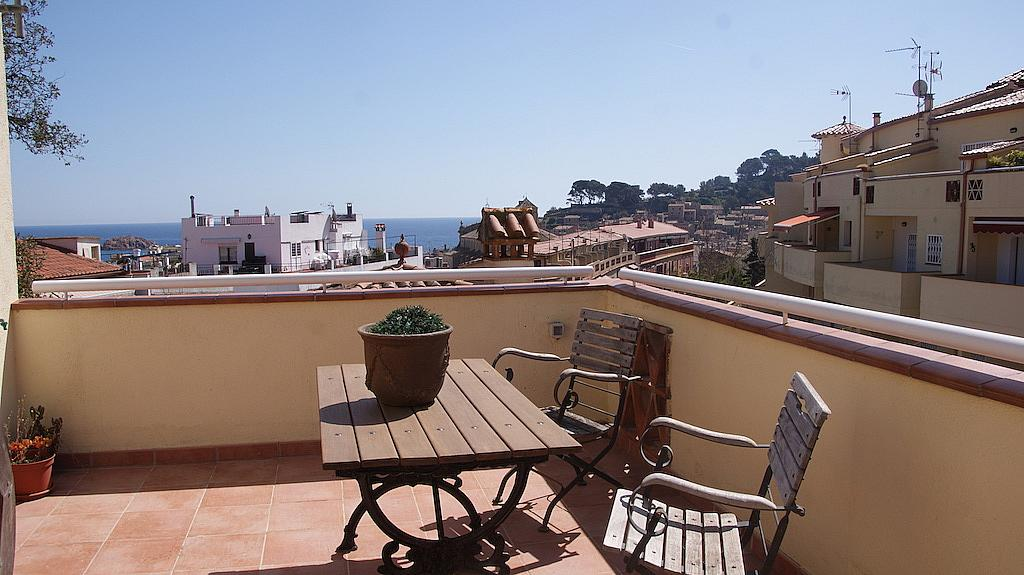 Terraza - Casa adosada en alquiler en calle Tossa de Mar, Tossa de Mar - 327581500