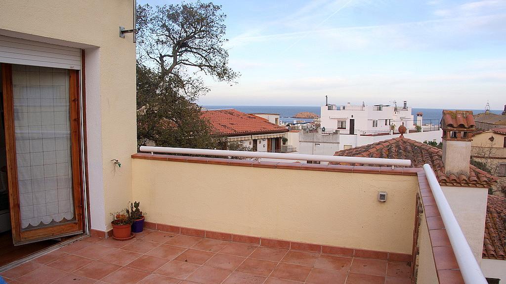 Terraza - Casa adosada en alquiler en calle Tossa de Mar, Tossa de Mar - 327581526