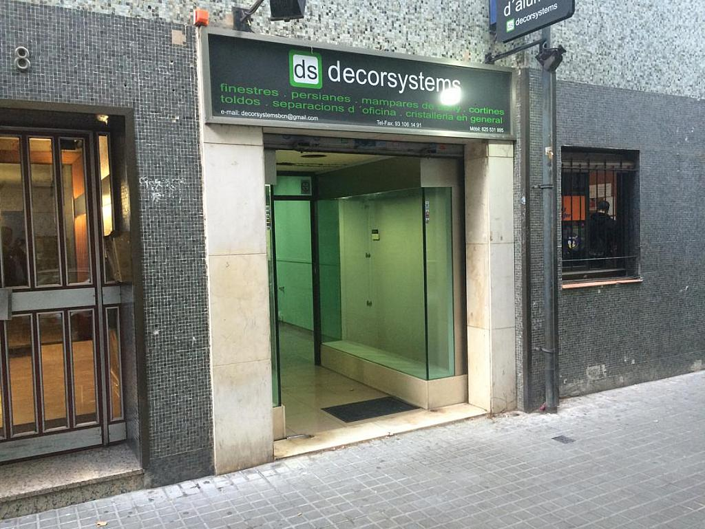 Local comercial en alquiler en calle Cardenal Tedeschini, El Congrés i els Indians en Barcelona - 318491744