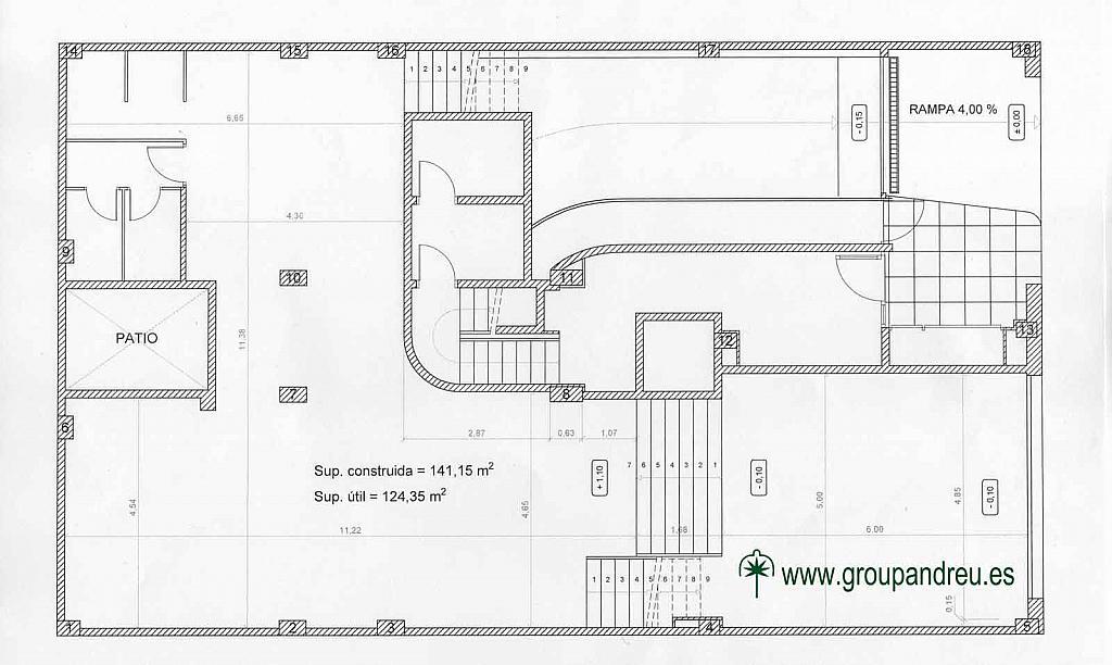Plano - Local en alquiler en calle Marina, La Sagrada Família en Barcelona - 295691712