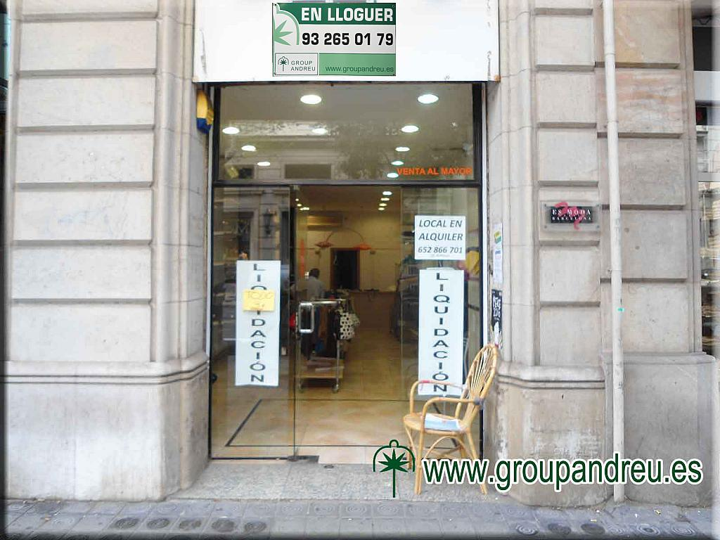 Local en alquiler en calle Ausias Marc, Eixample dreta en Barcelona - 323902785