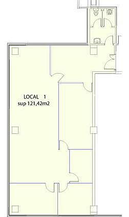 Oficina en alquiler en ronda Europa, Vilanova i La Geltrú - 272651790