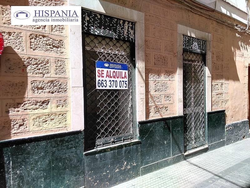 Foto - Local comercial en alquiler en calle Centro, Centro Histórico - Plaza España en Cádiz - 303485858