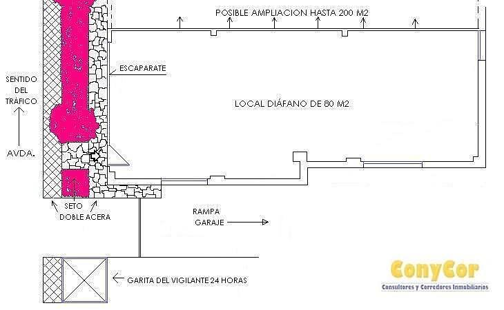 Foto2 - Local comercial en alquiler en Piovera-Conde Orgaz en Madrid - 221615177