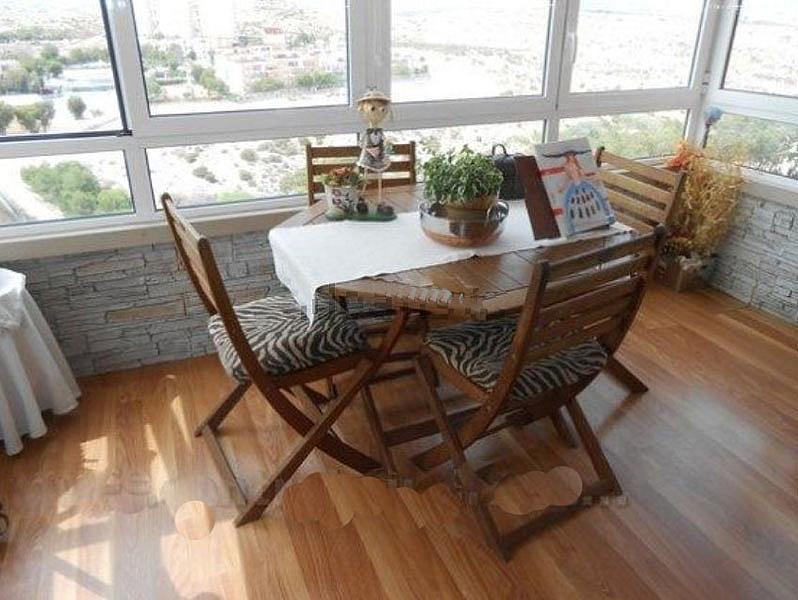 Terraza - Piso en alquiler en calle Pintor Pedro Camacho, Garbinet en Alicante/Alacant - 323921089