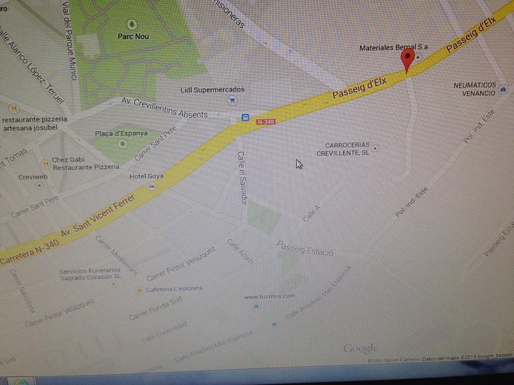 Nave en alquiler en paseo De Elche, Crevillent - 209951636