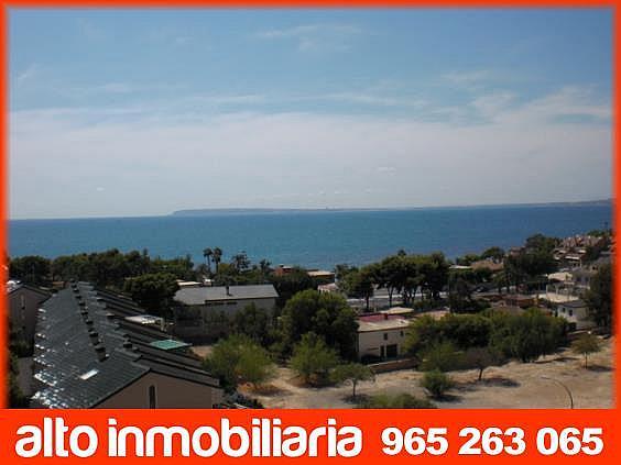 Piso en alquiler en Cabo de las Huertas en Alicante/Alacant - 314851849