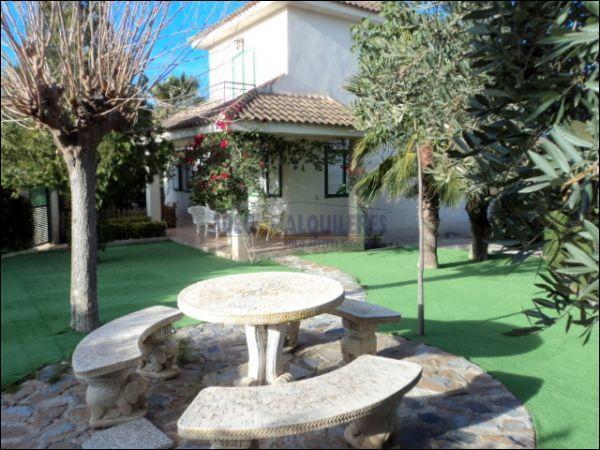 JARDIN - Chalet en alquiler en calle Torres Blancas, Alcayna - 69528336
