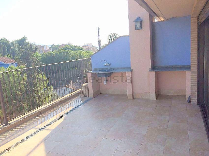 Terraza - Ático en alquiler en calle Fuensanta, Alberca, La - 351498353