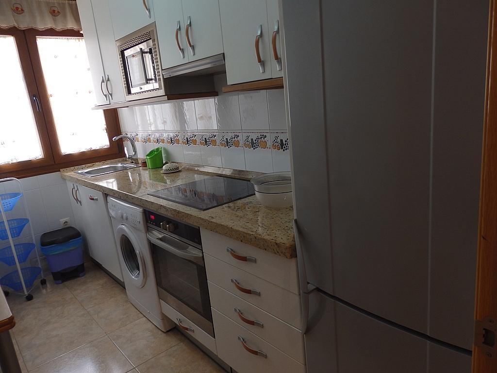 Cocina - Piso en alquiler de temporada en calle Pedro del Camino Mijarazo, Ajo - 256415802