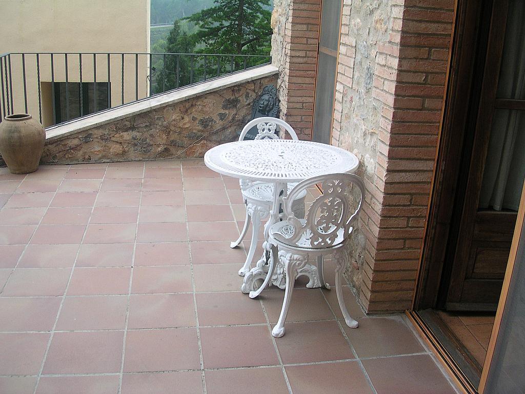 Terraza - Casa rural en alquiler en calle Bonaire, Sant Mori - 233538469