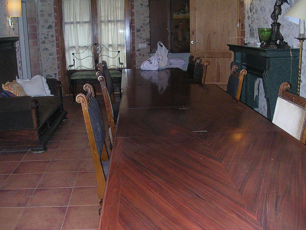 Comedor - Casa rural en alquiler en calle Bonaire, Sant Mori - 233538520
