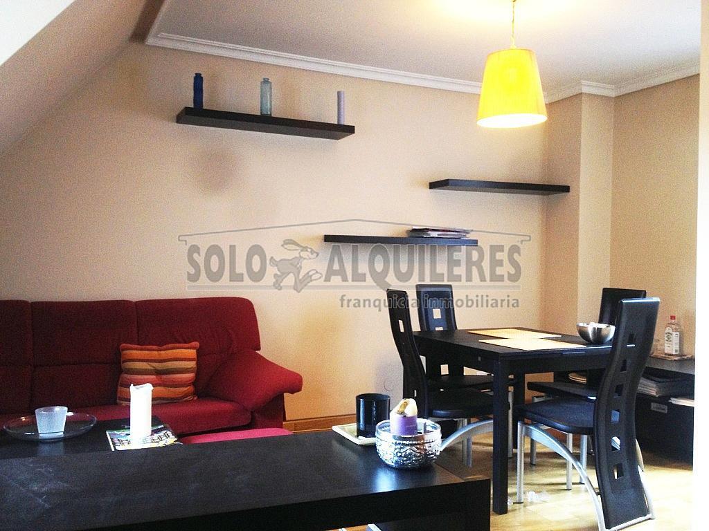 Salón I.JPG - Piso en alquiler en Teatinos en Oviedo - 296288694
