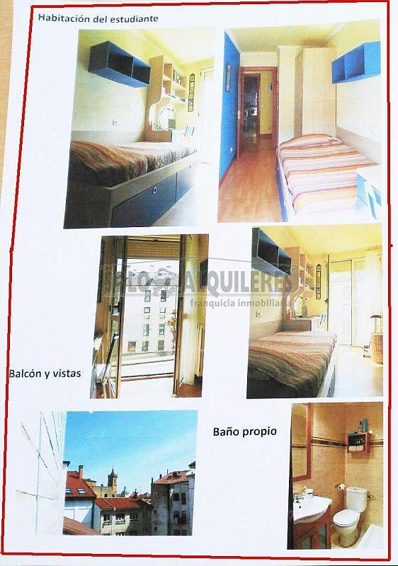 Habitacion alquiler.jpg - Piso en alquiler en Milán-Pumarin-Pontón de Vaqueros en Oviedo - 300597392