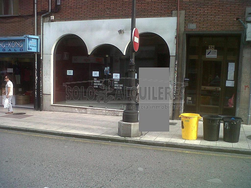 Fachada 1.JPG - Local comercial en alquiler en Milán-Pumarin-Pontón de Vaqueros en Oviedo - 293659947