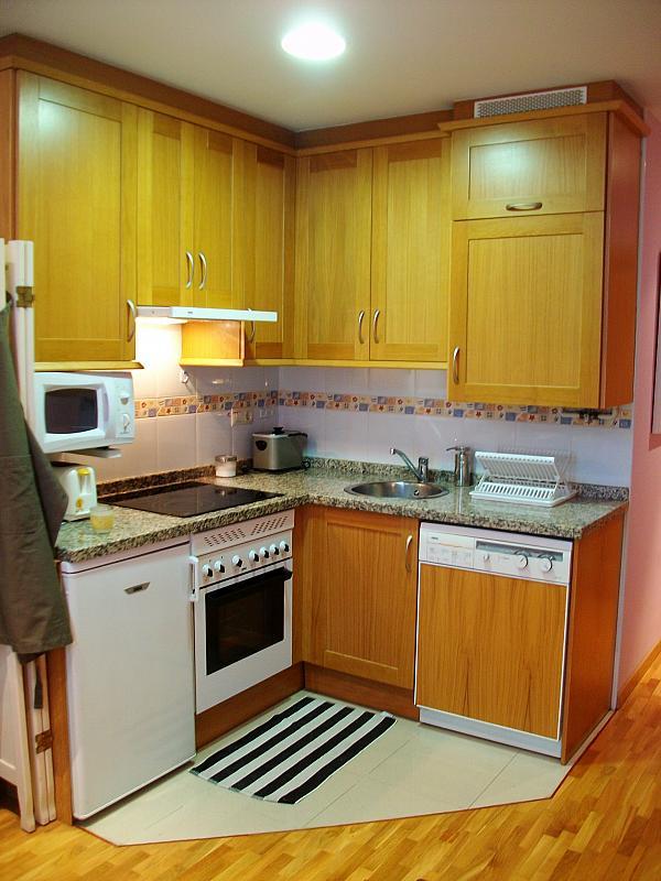 Cocina - Apartamento en alquiler en calle Honesto Batalón, Cimadevilla en Gijón - 260273982